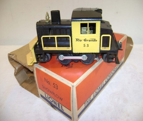 242: ABT: Lionel #53 D&RG Snowplow/OB+