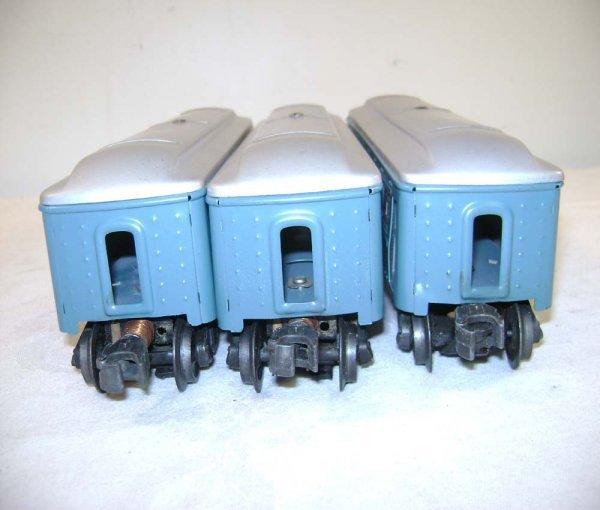 251: ABT: Lionel #2430/0/1 Blue & Silver Passengers ® - 10