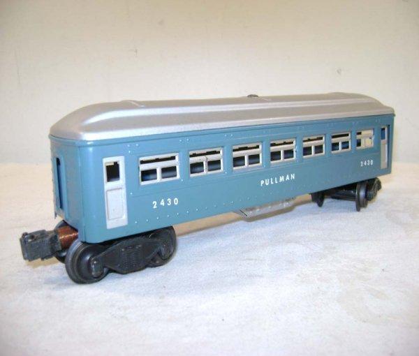 251: ABT: Lionel #2430/0/1 Blue & Silver Passengers ® - 4