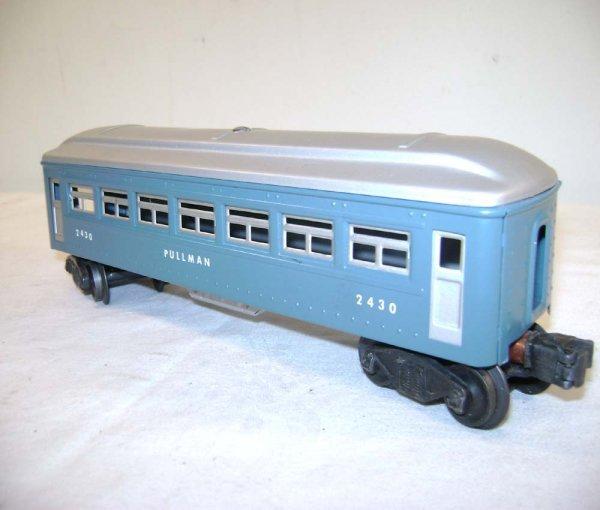 251: ABT: Lionel #2430/0/1 Blue & Silver Passengers ® - 5