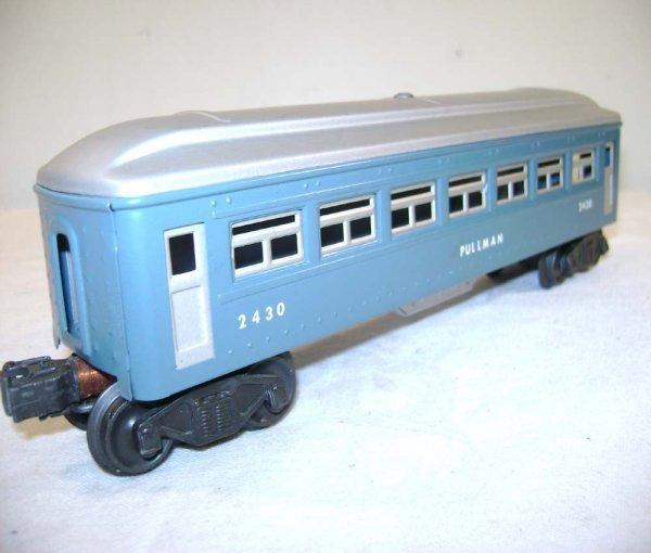 251: ABT: Lionel #2430/0/1 Blue & Silver Passengers ® - 6
