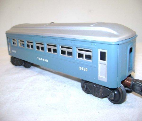 251: ABT: Lionel #2430/0/1 Blue & Silver Passengers ® - 7