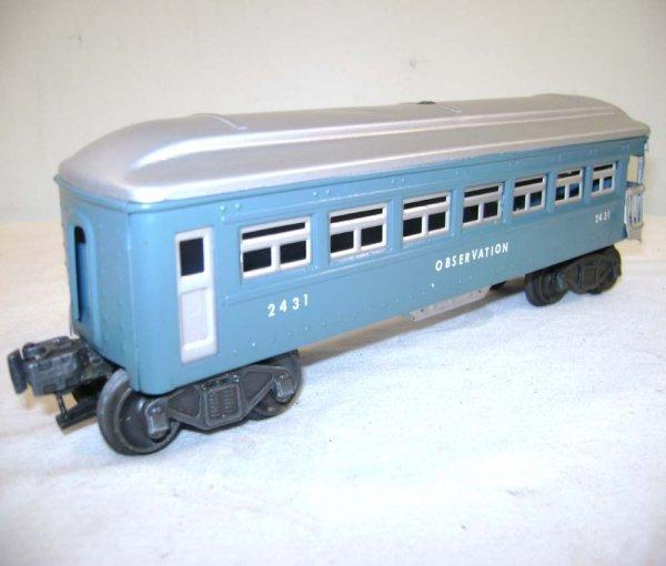 251: ABT: Lionel #2430/0/1 Blue & Silver Passengers ® - 8