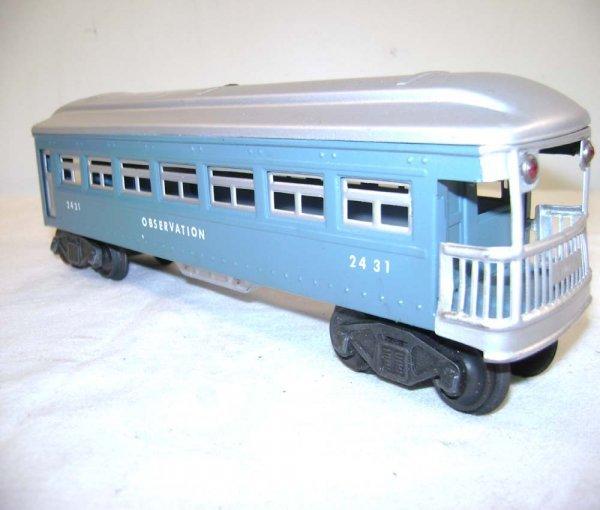 251: ABT: Lionel #2430/0/1 Blue & Silver Passengers ® - 9
