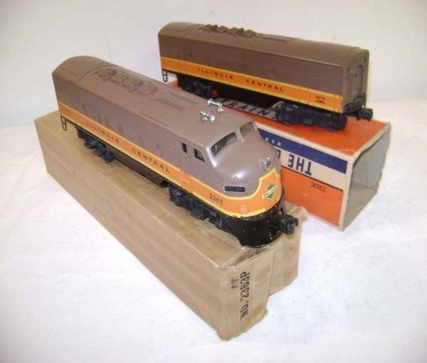 350: ABT: Lionel #2363 IC F-3 AB Diesels/OBs