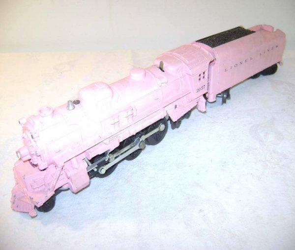400: ABT: Lionel #2037-500 Girl's Pink Steam & Tender
