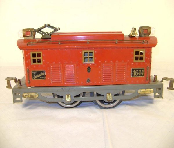 562: ABT: AF #4644 Red/Gray Wide Gauge Electric