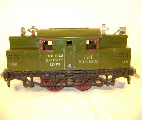 564: ABT: Ives #3241 Olive Green Electric Locomotive