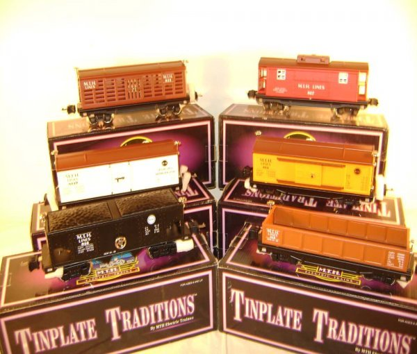 574: ABT: 6 MTH O Gauge 800 Rubber-Stamped Freights /OB