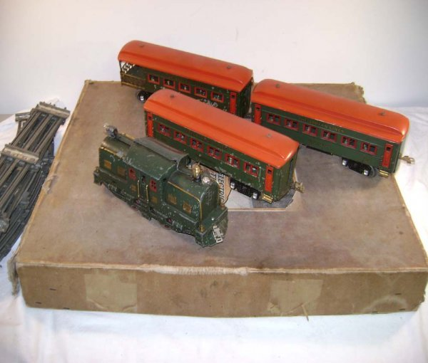 635: ABT: Dorfan Green Wide Gauge Passenger Set/OB