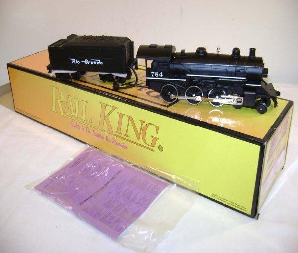 794: ABT: MTH #30-1153-1 D&RG 4-6-0 Steam (784) & Tende