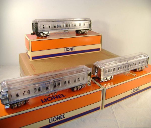 937: ABT: Lionel #29087/88/89 Clear Bodies Madisons/ Ob