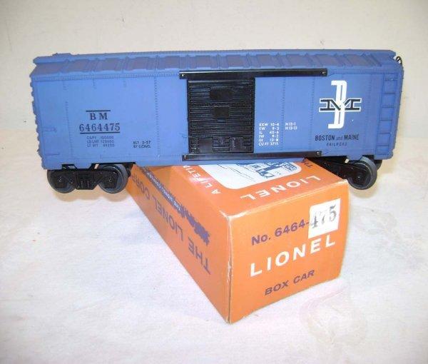 804: ABT: Lionel #6464-475 B&M/Dark-Blue Ptd Blue Body