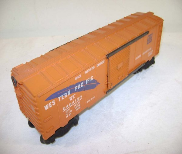 805: ABT: Lionel #6464-100 (250) Blue Feather WP Box Ca