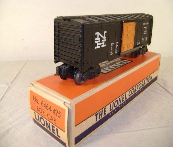 818: ABT: Lionel #6464-425 NH Box Car/Half-Serif/OB