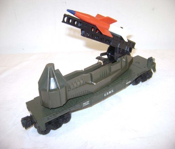 823: ABT: Lionel Olive #6640 USMC Missile Launcher