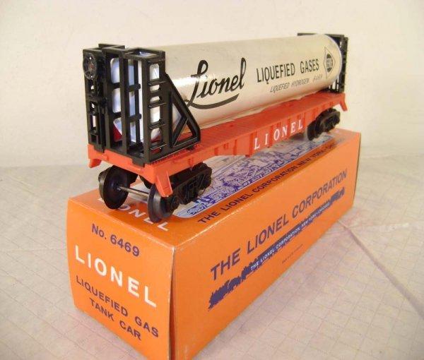 955: ABT: Lionel #6469 Liquified Gas Tank Car/Brick OB