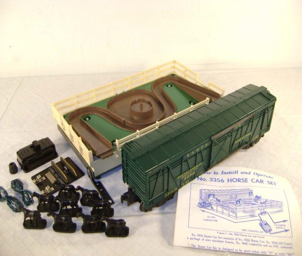 3: ABT: Lionel #3356 Operating Horse Car and Corral