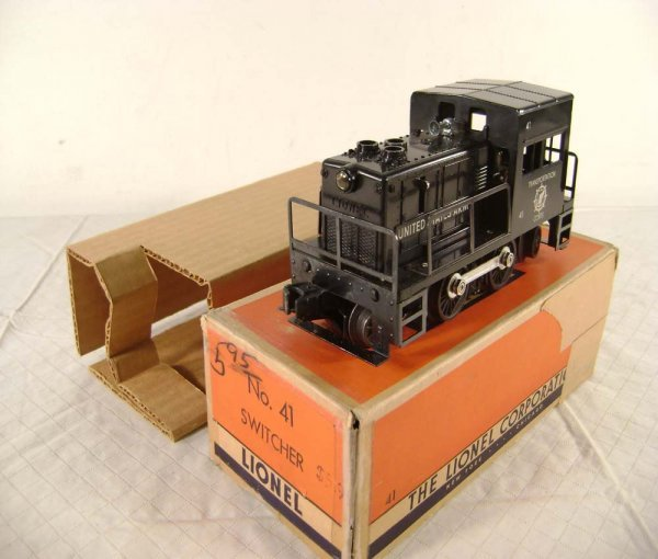 11: ABT: Lionel #41 US Army Switcher/OB