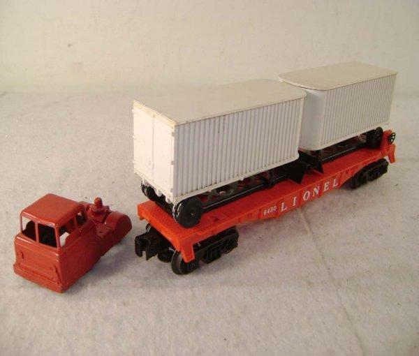 14: ABT: Lionel #6431 Midge Tractor Variation & Trailer