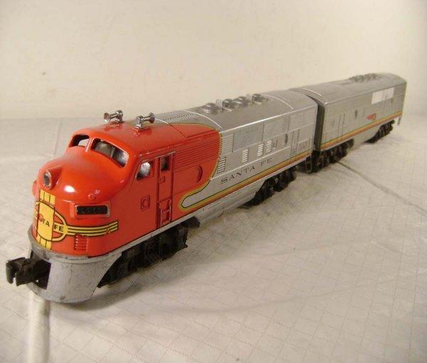 15: ABT: Lionel #2243 Santa Fe F-3 AB Diesels