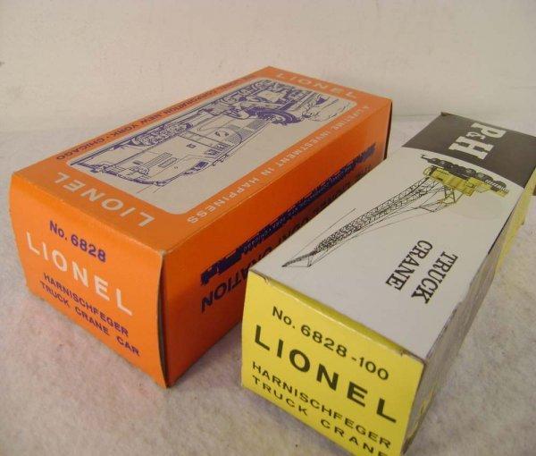 16: ABT: Lionel #6828/#6828-110 P&H Crane Boxes