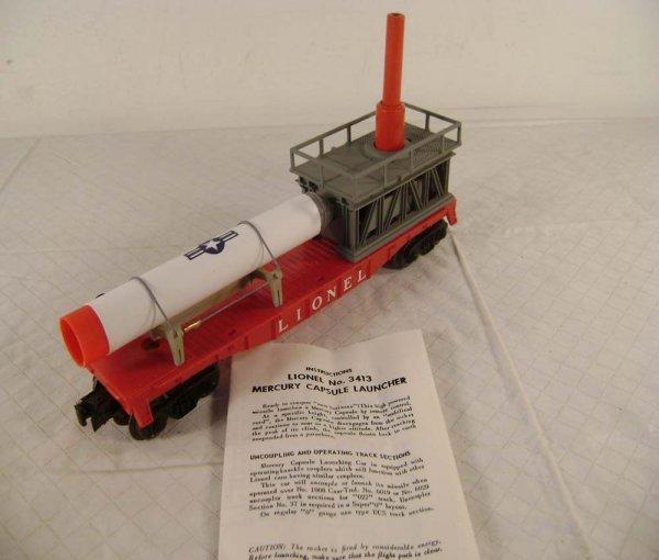 17: ABT: Lionel #3413 Mercury Capsule Launching Car