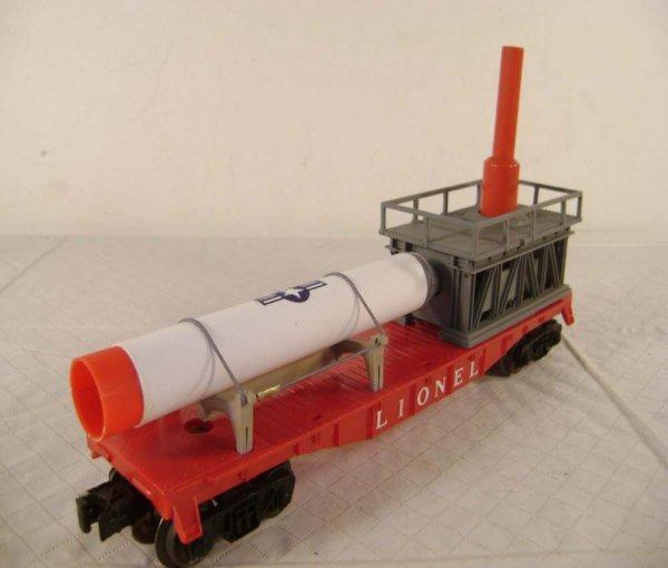 17: ABT: Lionel #3413 Mercury Capsule Launching Car - 5