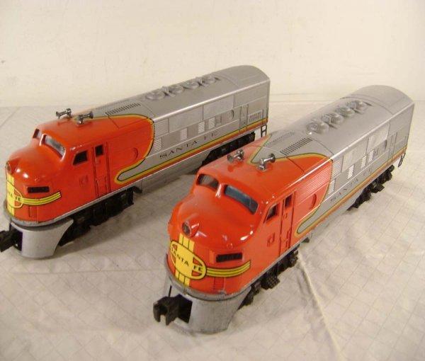 20: ABT: Lionel #2383 Santa Fe F-3 AA Diesels