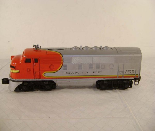 20: ABT: Lionel #2383 Santa Fe F-3 AA Diesels - 2