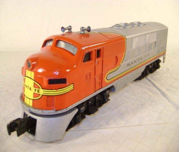 20: ABT: Lionel #2383 Santa Fe F-3 AA Diesels - 9