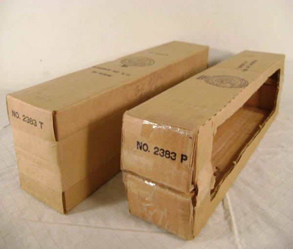 21: ABT: Lionel #2383 Santa Fe F-3 AA Diesels Boxes