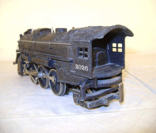 23: ABT: Lionel #2026/#2466WX Engine & Whistle Tender - 8