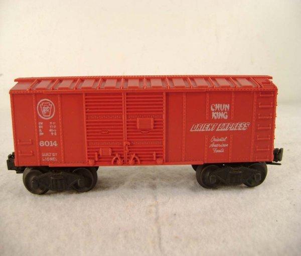 81: ABT: Lionel #6014 Chun King Orient Express Box Car - 2