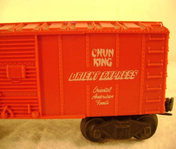81: ABT: Lionel #6014 Chun King Orient Express Box Car - 4