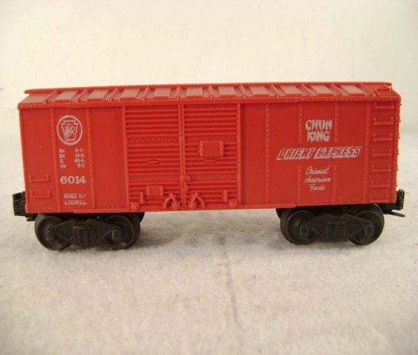 81: ABT: Lionel #6014 Chun King Orient Express Box Car - 5