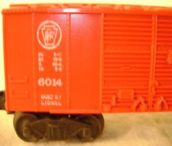 81: ABT: Lionel #6014 Chun King Orient Express Box Car - 6