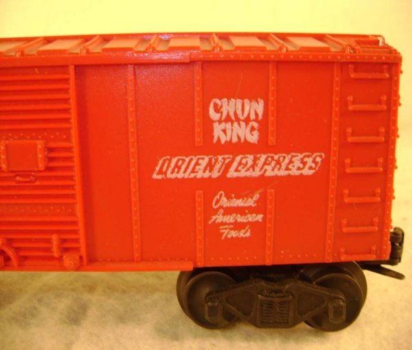81: ABT: Lionel #6014 Chun King Orient Express Box Car - 7