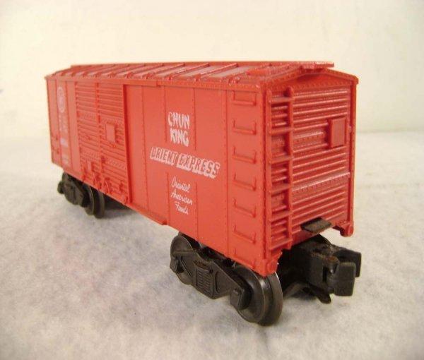 81: ABT: Lionel #6014 Chun King Orient Express Box Car - 9