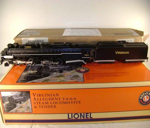 390: ABT: Lionel #28028 Virginian 2-6-6-6 Allegheny Ste
