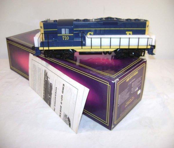 394: ABT: MTH Santa Fe (710) EMD GP-9 Diesel/OB