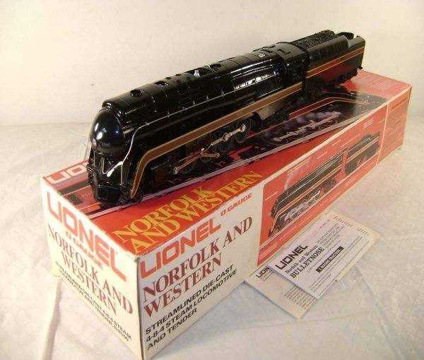 395: ABT: Lionel #8100 N&W J Class & Tender/OB