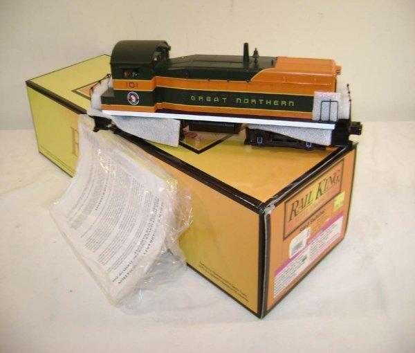 396: ABT: MTH #30-2177-1 GN (101) SD-8 Diesel Switcher/