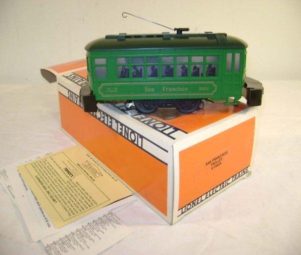 403: ABT: Mint Lionel #18404 San Fransisco Trolley/OB