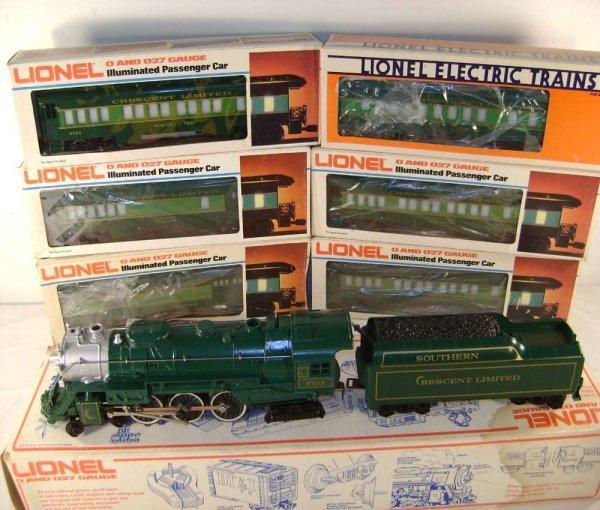 405: ABT: Lionel #8702 7 pc Southern Crescent Pass Set/