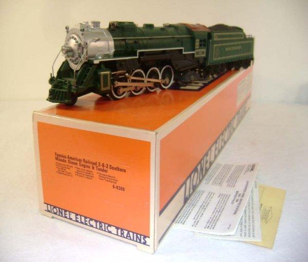 1053: ABT: Mint Lionel #8309 Southern FARR #4 Mikado St
