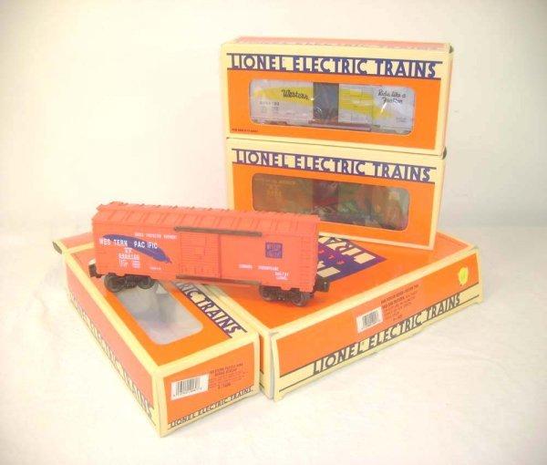 1058: ABT: Mint Lionel #19257 6464 Series II Box Cars/O
