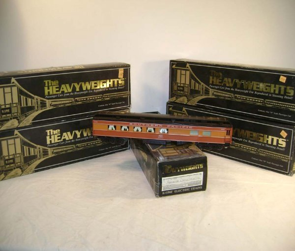 1062: ABT: K-Line Set of 5 Southern Pacific Scale Dayli