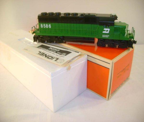 1067: ABT: Great Lionel #18208 Burlington Northern SD-4