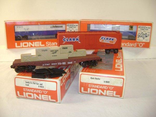 1071: ABT: Lionel #9823/9809/9801/9803 Standard O Freig